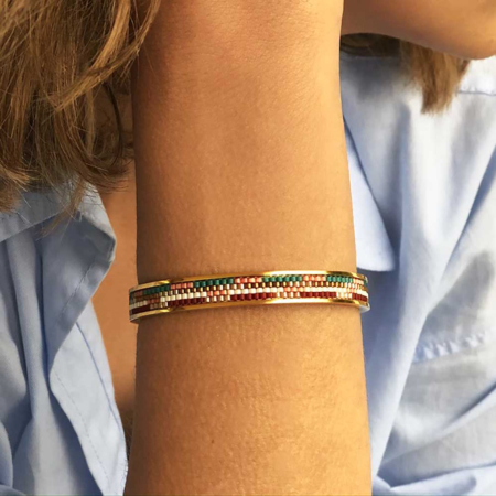 Totem Narrow Bangle: Carmen