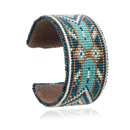 Sani Wide Beaded Cuff