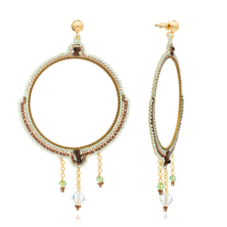 Bonita Large Chandelier Crystal Earrings