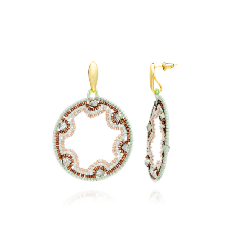 Muraco Small Circular Earrings