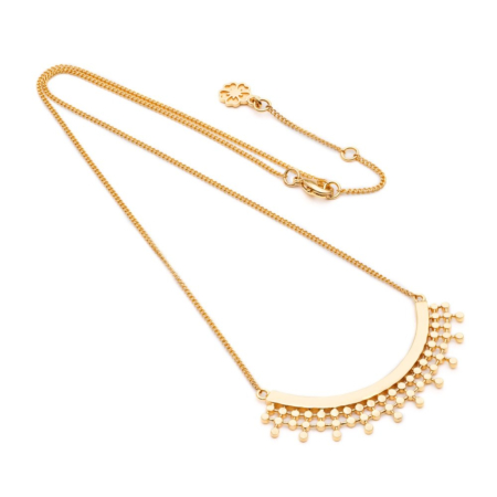 Etrusca Curved Necklace