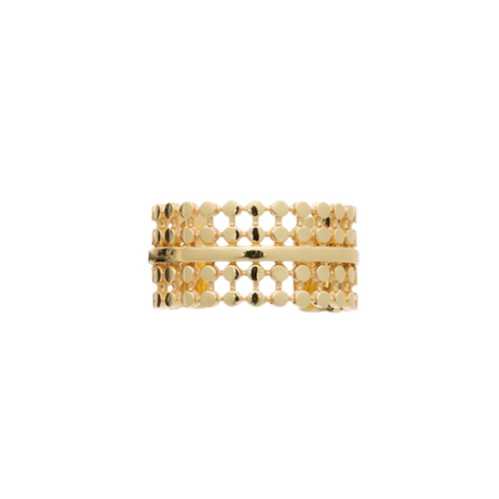 Etrusca Double Row Ring