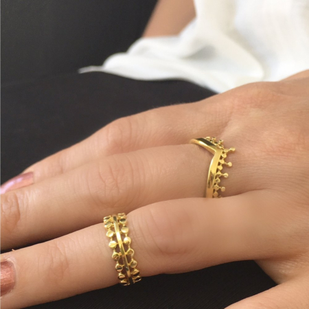 Etrusca Simple Joint Ring