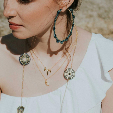 Toluca Long Necklace: Dusk