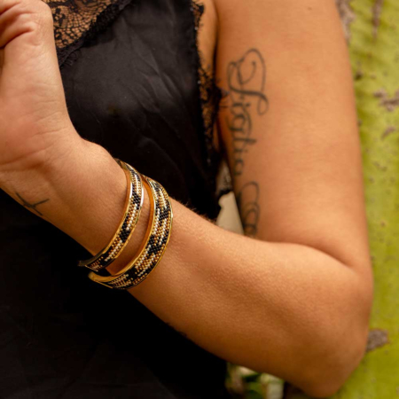 Totem Narrow Bangle: Tulum