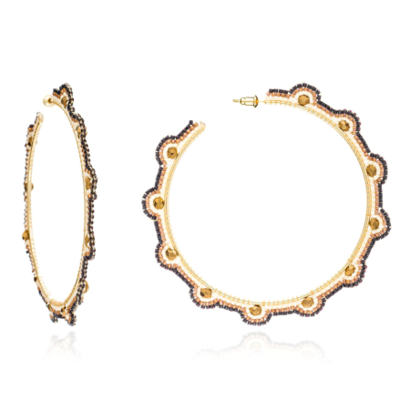 Gabriela Large Hoop Earrings