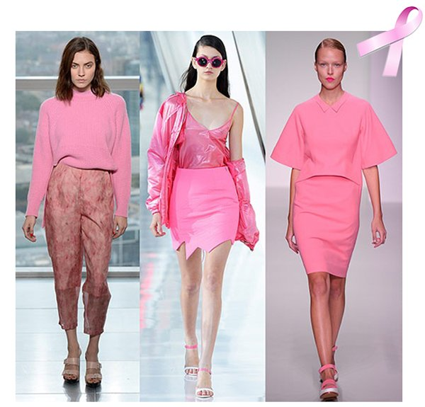 Pink fashion breast cancer