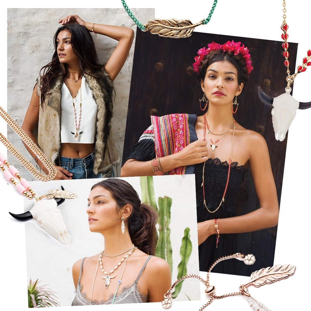 Azuni London Santa Fe Jewelry | Bohemian, summer, collection