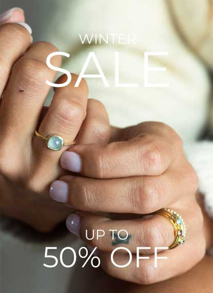 SHOP gold vermeil stacking rings by azuni