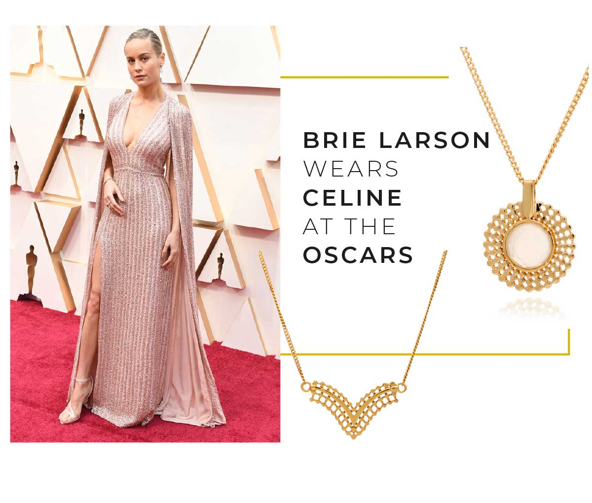 Brie Lawson at the Oscars 2020