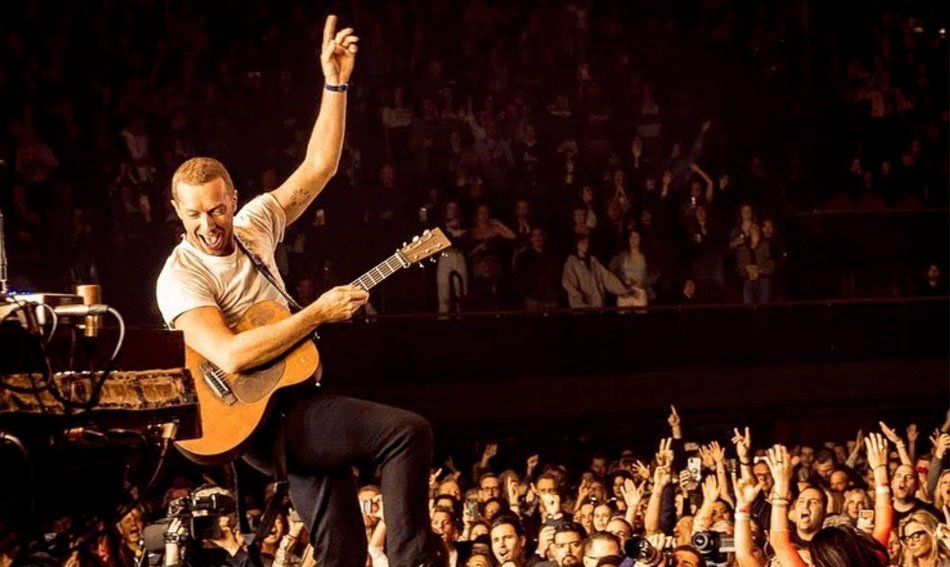 Live concert chris Martin Cold play