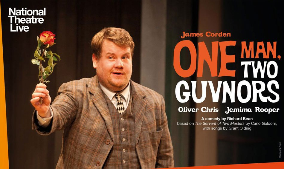 James Corden THE national Theatre