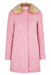 Pink coat winter breast cancer