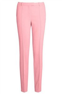 Pink fashion trousers winter