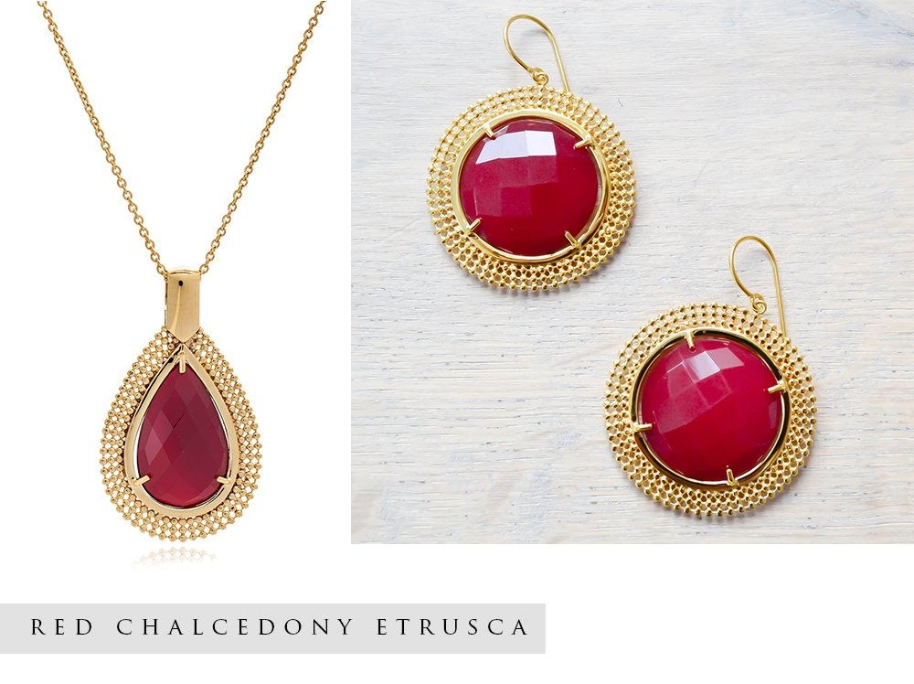 Red Jewellery Autumn Style Edit